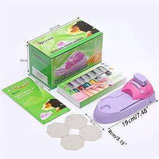 Beioust Nail Art Printer Easy Printing Pattern Stamp Manicure Machine Stamper Tool Set