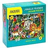 Jaques of London Jungle Friends Rompecabezas para niños - Puzzle de 50 Piezas para niños - Rompecabezas Recomendado para niños de 4 años -