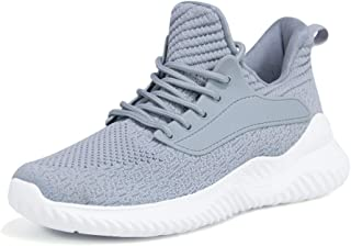 Womens Athletic Walking Shoes - Slip On Memory Foam Lightweight Work Casual Tennis Running Shoes Sneakers for Indoor Outdoor Gym Travel