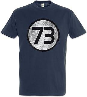Urban Backwoods Black The Big Bang Number 73 Vintage III Logo Camiseta De Hombre T-Shirt