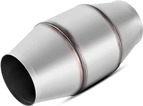 مبدل کاتالیزوری 4 اینچی / خروجی کاتالیزوری جهانی متناسب با مبدل اگزوز فولاد ضد زنگ با جریان بالا (سازگار با EPA)