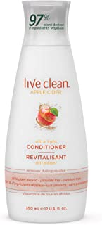 Live Clean Apple Cider Refresh Conditioner, 12 Oz