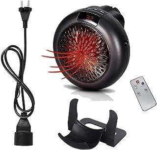 FFEENG Mini Heater Estufa Eléctrica Portatil 1000 W con Termostato, Mini Estufa Eléctrica Calefactor Portátil Instant Heater con Termostato Ajustable,B