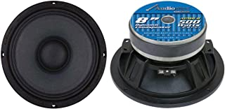 Audiopipe APMB-8 8 Inch 1000W 8 Ohm Low/Mid Bass Frequency Car Audio Loudspeaker with 2 Inch TIL Voice Coil (2 Pack) photo