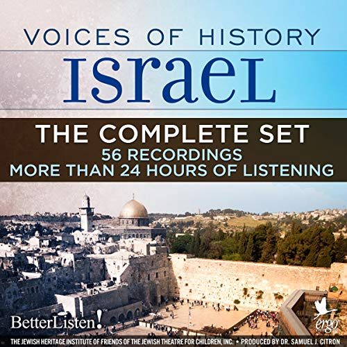 Voices of History Israel: The Complete Set audiobook cover art