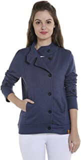 Campus Sutra Women's Regular Fit Cotton Jacket