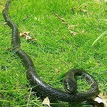 Leoie Fake Realistic Snake Lifelike Real Scary Rubber Toy Prank Party Joke Halloween