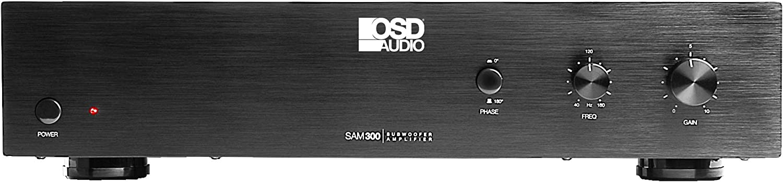 OSD Black 300W Mono-Signal Elegant Subwoofer w Sensing Auto - Amplifier Charlotte Mall