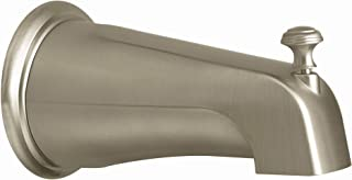 Moen 3808BN Kingsley Replacement Tub Diverter Spout 1/2-Inch Slip Fit Connection, Brushed Nickel