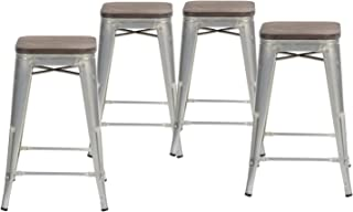 Best metal barstools with wood seat Reviews