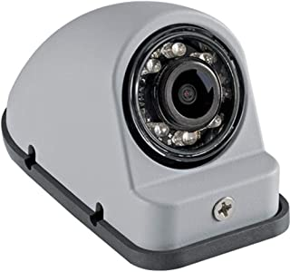 Voyager VCMS50RGP Color CMOS IR LED Right Side Camera, Gray Primer Color, 1/4 Sensor, Built-in Microphone, NTSC Video Output Signal Format, Mirror (Reversed) Image Orientation, 12V Power, Waterproof