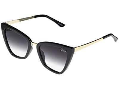 QUAY AUSTRALIA Reina Mini (Black/Fade) Fashion Sunglasses
