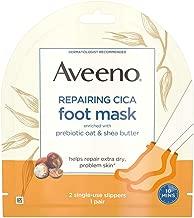 Aveeno Repairing Cica Foot Mask 3-Pack
