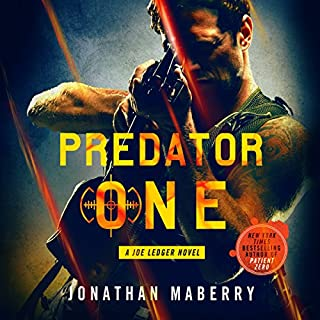 Predator One audiobook cover art