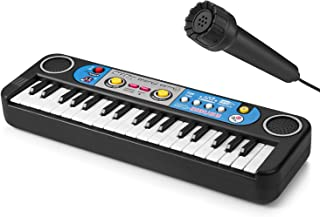 ASTOTSELL Portable Kids Piano Keyboards Toy, 37 Keys Electronic Musical Instrument Piano for Kids Baby Learning Education with MP3 Play, Microphone, Lesson Function