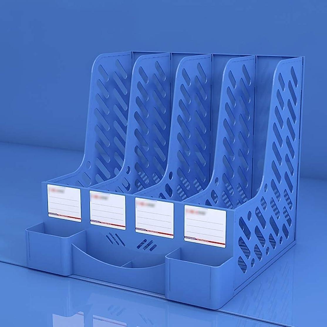 ウィンク初期の超音速XWYSSH主催 ファイルデスクプレスデスク4列のファイルホルダーデスク本棚のストレージボックス XWYSSH