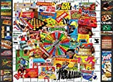 White Mountain Puzzles Games We Loved - 400 Piece Jigsaw Puzzle