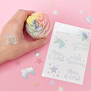 Gingerray Make A Wish Unicorn Tattoos 16 Pack