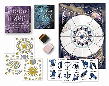 Practical Magic  Includes Rose Quartz and Tiger s Eye Crystals 3 Sheets of Metallic Tattoos and More!  RP Minis