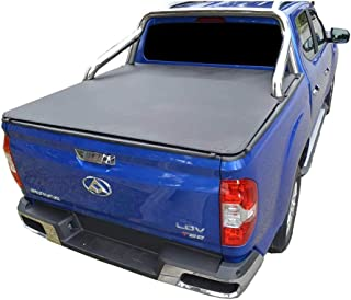 ClipOn Ute/Tonneau Cover for LDV T60 Luxe (2017 Onwards) Dual Cab suits Factory Sports Bars and an Over Rail Tub Liner