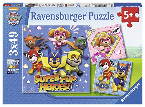 Ravensburger - Puzzle 3 x 49, Paw Patrol D (08036)