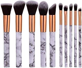 Deals Marble Makeup Brush Set by My Brush Set
