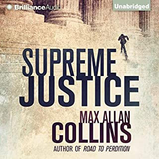 Supreme Justice audiobook cover art