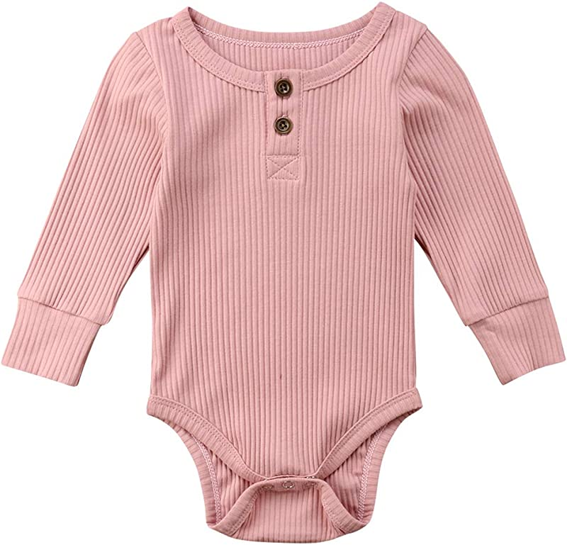 Emmababy Newbown Baby Boys Girls Knitted Sweather Rompers Sleepwear Long Sleeves Pajamas Fall Winter Bodysuit