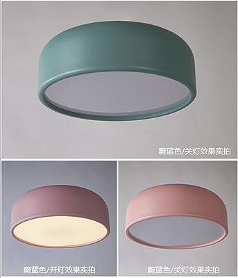 Amazon.com: Lámpara de techo LED de 27 W para dormitorio ...