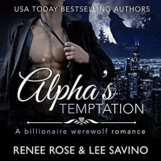 Alpha's Temptation: A Billionaire Werewolf Romance audiobook cover art