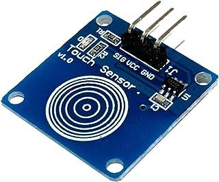 AZDelivery TTP223B Módulo de conmutador capacitivo con sensor táctil digital para Arduino con eBook incluido