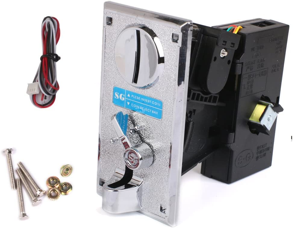 YIJU Plastic Alloy Advanced CPU outlet M Vending Selector Acceptor Coin Max 68% OFF