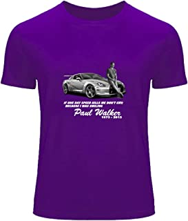 Paul Walker Printed for Men's T-Shirt Tee Outlet