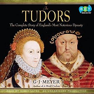 The Tudors audiobook cover art