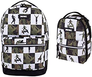 The Big Multiplier Black/Green Backpack and Lunch Bag
