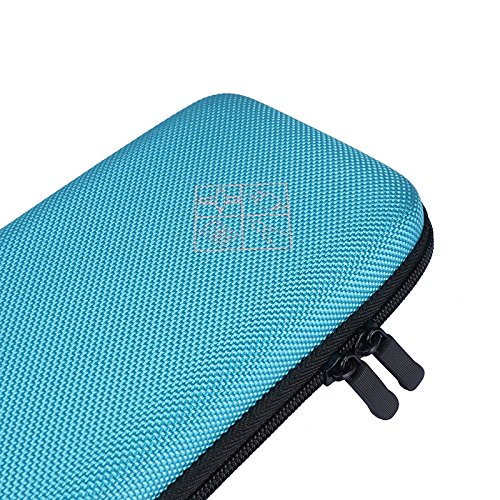 MASiKEN Hard EVA Carrying Case for Texas Instruments TI-84 Plus/TI-83 Plus CE Graphing Calculator, More Space for Pen and Accessory (Blue) Photo #7