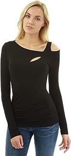 Women Cut Out One Shoulder Blouse