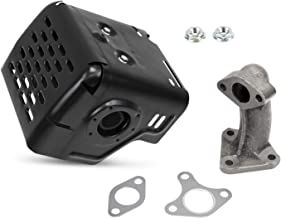 Everest Parts Supplies Muffler Exhaust Compatible with Honda GX340 GX390 11HP & 13HP Manifold & Nuts
