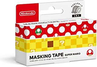 Masking tape Super mario (mushroom / hatena block) Japanese Ver.