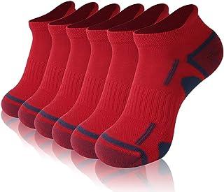 No Show Athletic Socks, Gotops Unisex COOLMAX Low Cut Moisture Wicking Running Socks, 1/3/6 Pack