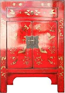 Fine Asianliving Armoire Chinoise Meubles Chinois Armoire de Mariage Chinoise Style Rangement Chinois Mobilier Oriental Ar...