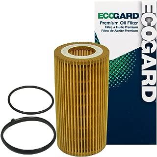 ECOGARD X5581 Cartridge Engine Oil Filter for Conventional Oil - Premium Replacement Fits Volkswagen Jetta, Passat, Beetle, Golf, Rabbit, GTI, Eos / Audi A4 Quattro, A4, A3, TT, TT Quattro