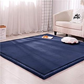 Soft Bedroom Rugs Indoor Coral Fleece Rug Thick Tatami Kids Playmat for Living Room Kids Room Nursery Home Decor Carpet, M...