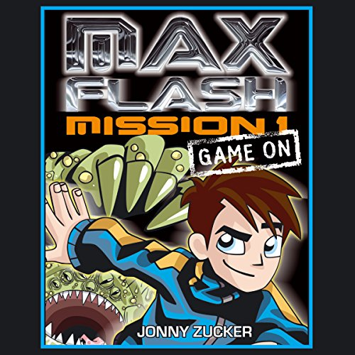 Max Flash Mission 1 audiobook cover art