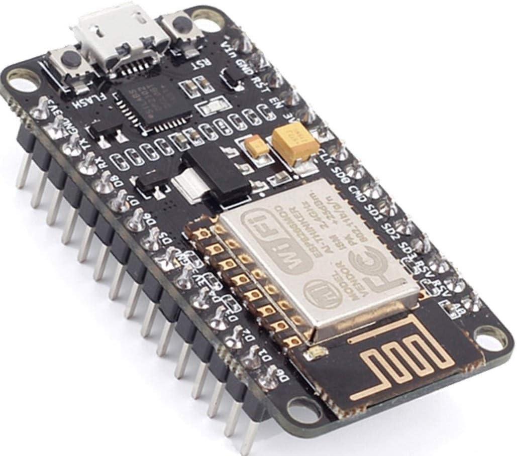 NodeMcu Lua WiFi Internet of Things Development Board Based ESP8266 CP2102 | Módulo Tarjeta de Desarrollo de Internet CP2102 NodeMcu V2 Basado en ESP8266 ESP12E Lua WiFi