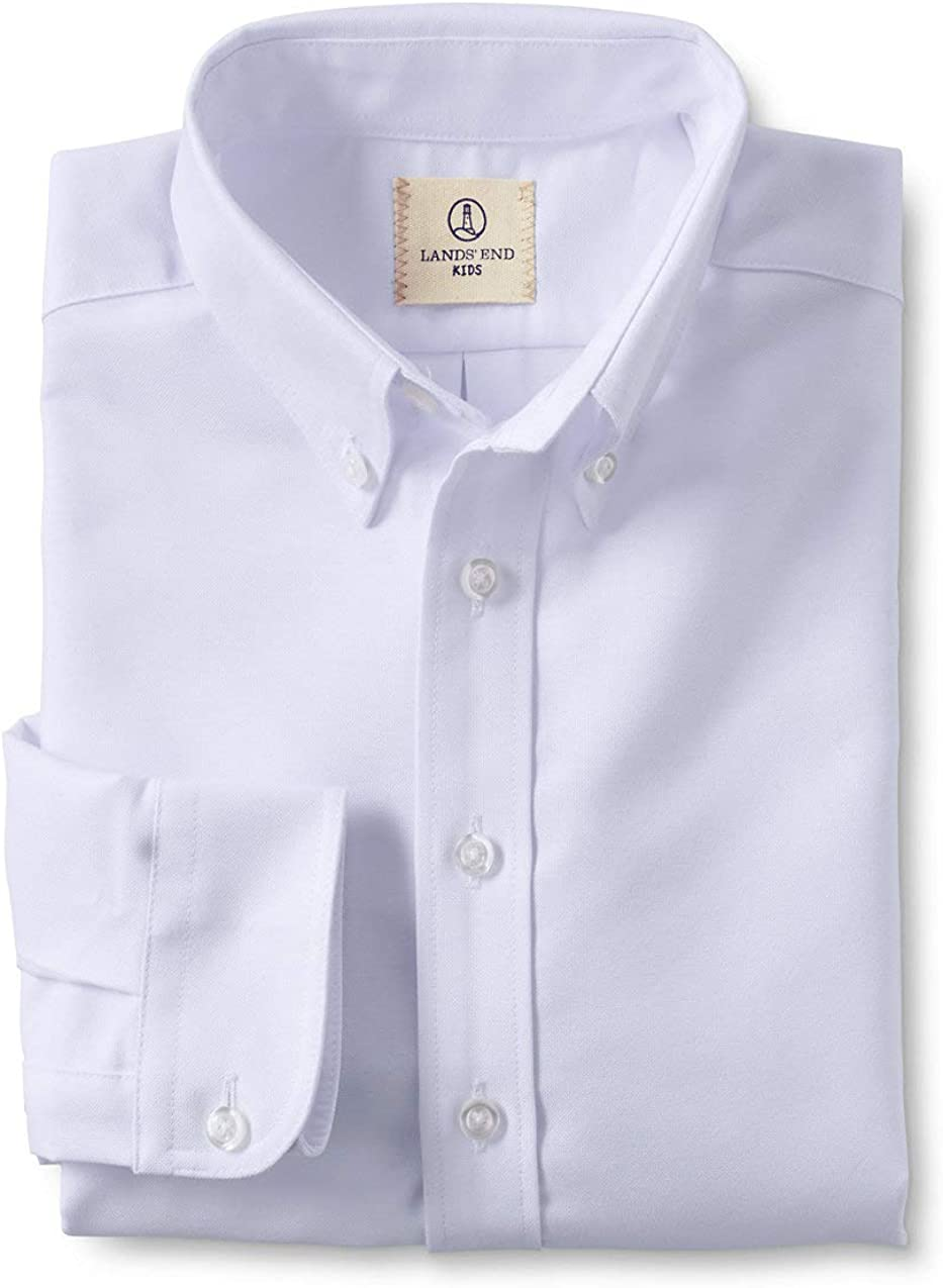 Lands' End Spasm price School Uniform Little Boys Wholesale S Oxford Long Sleeve Dress