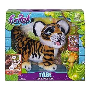 FurReal friends - Tyler, mi Tigre jugueton (Hasbro B9071175) (versión en alemán)