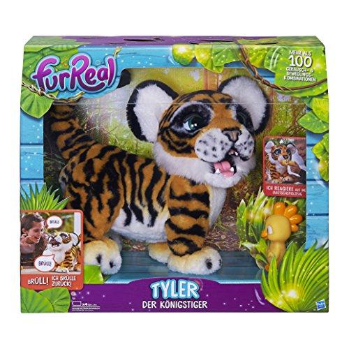 FurReal friends - Tyler, mi Tigre jugueton (Hasbro B9071175) (versión en...