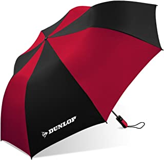 Dunlop Folding Two-person Umbrella-56-dl Black/red