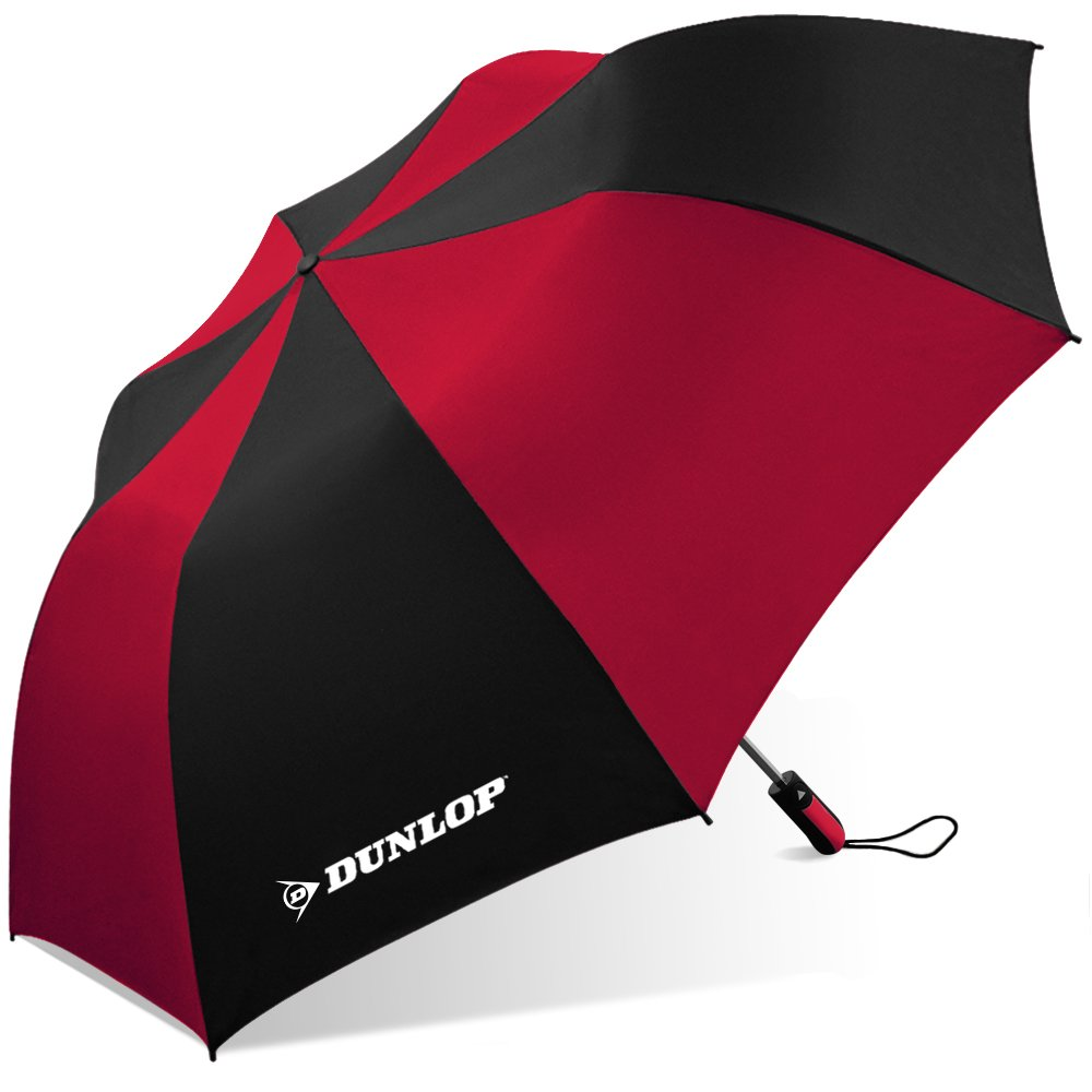 Dunlop Folding Two Person Umbrella 56 dl Black